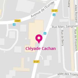Image plan d'accès - Agence Améthyste / Cléyade de Cachan